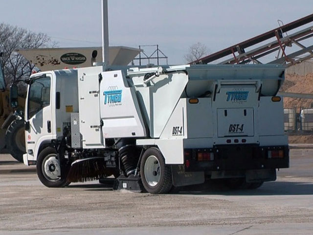 Buy A New Tymco Dst 4 Sweeper Contract Sweepers